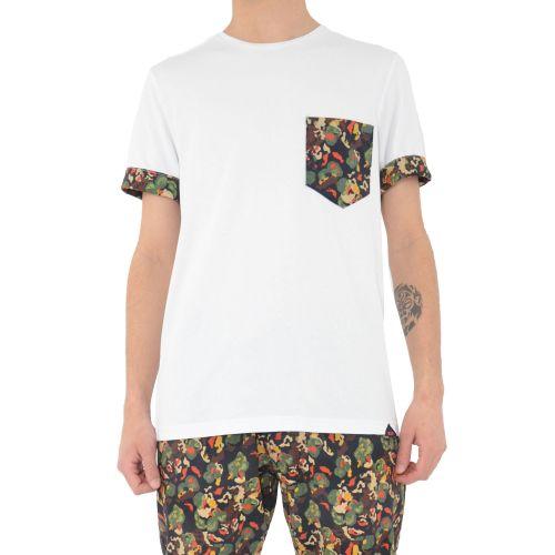 koon 6683 7 t-shirt uomo bianco