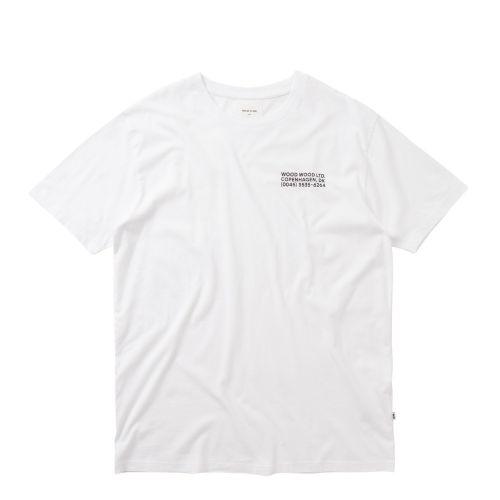 wood wood info uomo t-shirt 12035713-2334