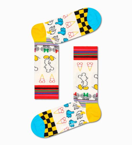 happy socks calzini donna multicolor SUNNY SKETCH SOCK/D