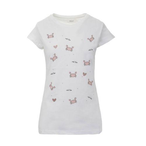 vicolo t-shirt donna latte RH0822