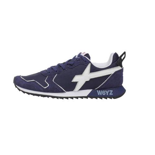 W6YZ JETM 1C49 scarpe uomo bianco e blu