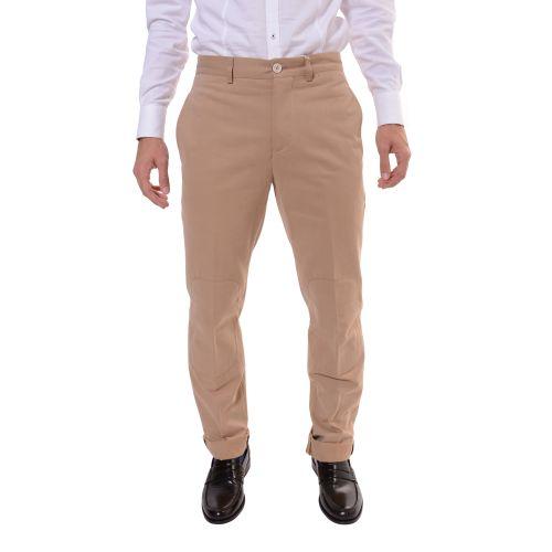 Brunello Cucinelli Uomo Pantalone Beige