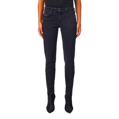 diesel jeans donna denim nero D-JEVEL