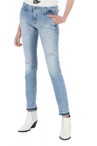 please jeans donna blue denim P07QBQ2P7T