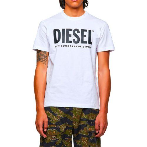 diesel t-shirt uomo bianco T-DIEGOS-ECOLOGO
