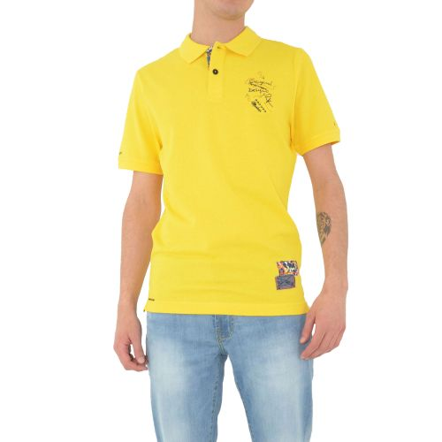 mark up MK991041 GIALLO polo uomo giallo