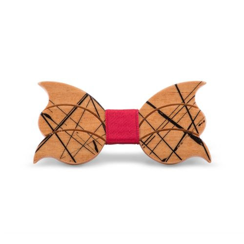 Lord Dandy Art Designer Uomo Papillon Legno