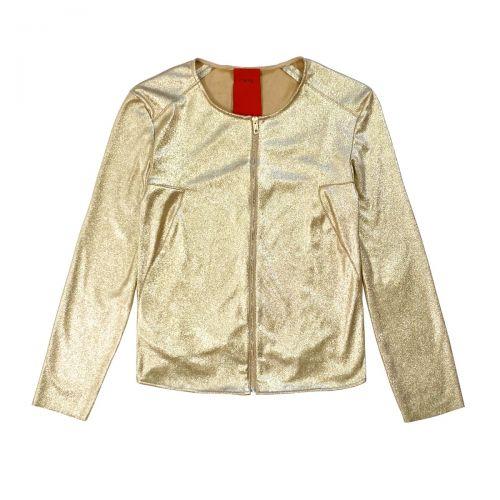 rame giacca scamosciata laminata donna giacca GSCAP03