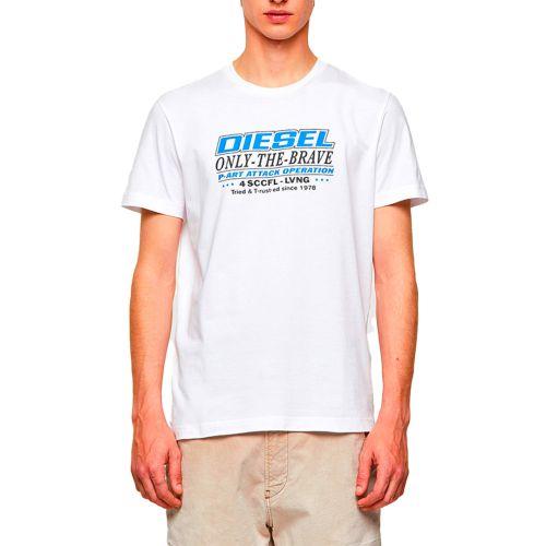 diesel t-shirt uomo bianco T-DIEGOS-K20