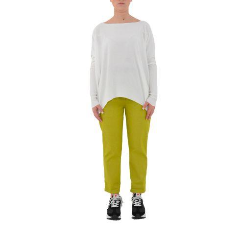 bighet 9522/15241 BIANCO maglia donna bianco