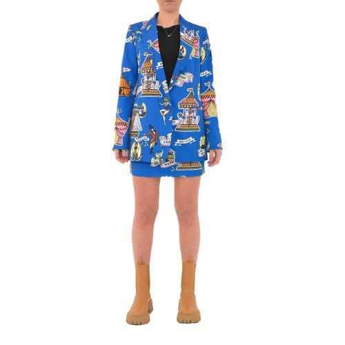 vicolo TH0475 ROYAL giacca donna blu