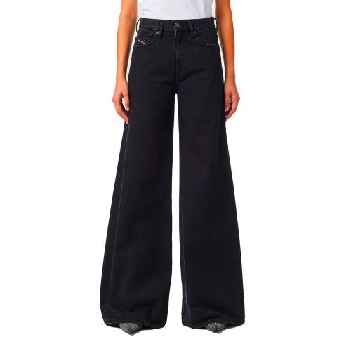 diesel jeans donna denim nero D-AKEMI