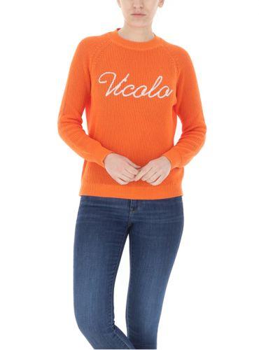 vicolo 7085H ARANCIONE maglia donna arancione