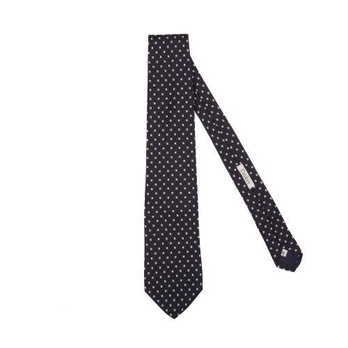 Drake's Uomo Cravatta Nero