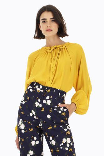 dixie blusa donna ocra C152S024