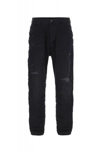 imperial P372MLUD52 1970 jeans uomo nero e denim