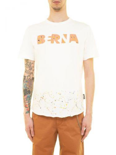 berna M 210096 24 t-shirt uomo latte