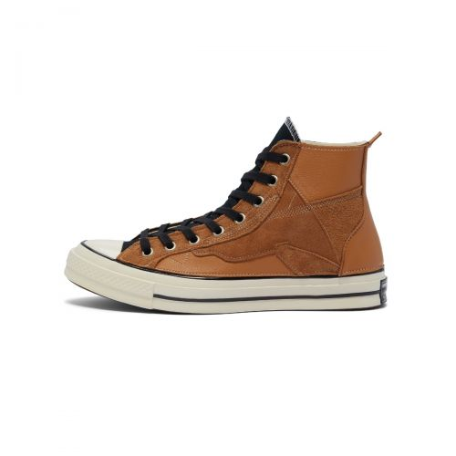 converse chuck 70 hi leather patchwork uomo sneakers 169140C