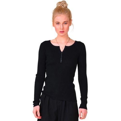 molly bracken maglia donna nero LA907A21