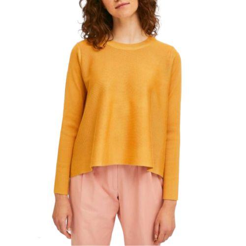 compania fantastica SP21DEJ01 MOSTARDA maglia donna giallo