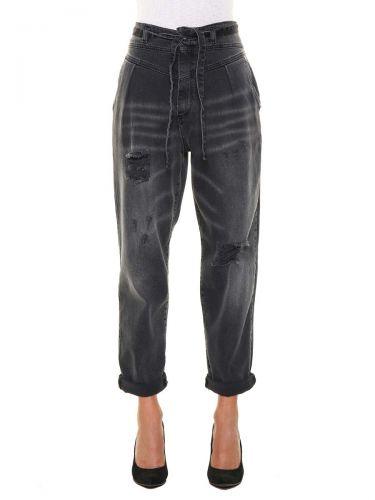 berna W 206086 30 jeans donna nero e denim