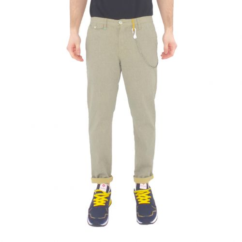 berna M 210143 56 pantalone uomo multicolor