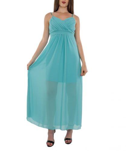 rinascimento CFC0104051003 TURCHESE abito donna azzurro
