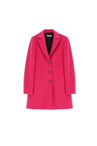 please cappotto donna fuxia K493INATAS