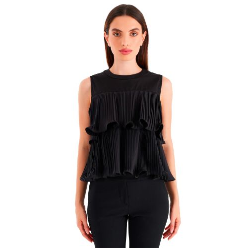 rinascimento blusa donna nero CFC0018080002