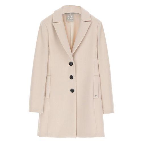 please cappotto donna panna K493INATAS