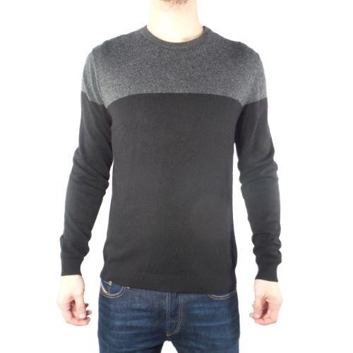 diktat DK87023 NERO/ANTRACITE maglia uomo grigio e nero