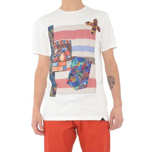 koon 6663 U t-shirt uomo bianco