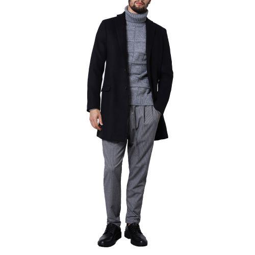 imperial K714AEWFNR 1900 cappotto uomo nero