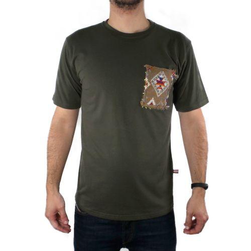 tematico TW21034 VERDE MILITARE t-shirt uomo verde