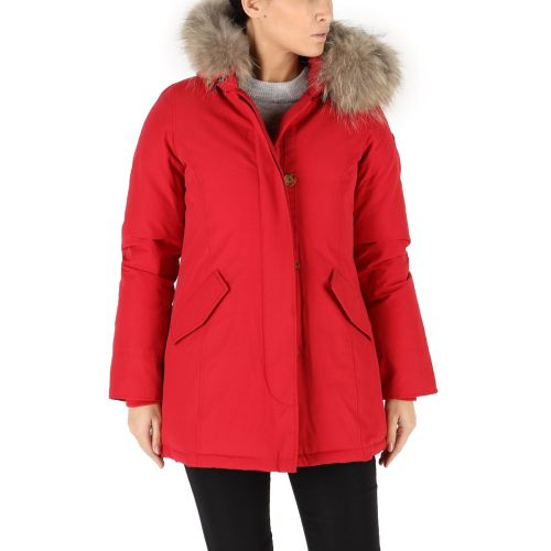 mixture G245 010 parka donna rosso