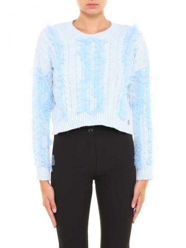 berna W 206087 155 maglia donna blu