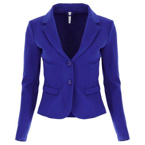 imperial giacca donna bluette JS24CGB