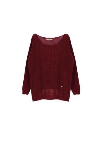 please maglia donna bordeaux M49775061