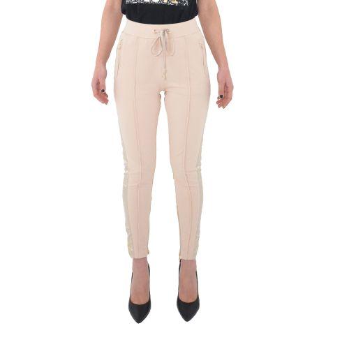 gaudi 111BD24006 2459 pantalone donna rosa