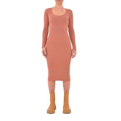 vicolo 2018H BLUSH abito donna rosa