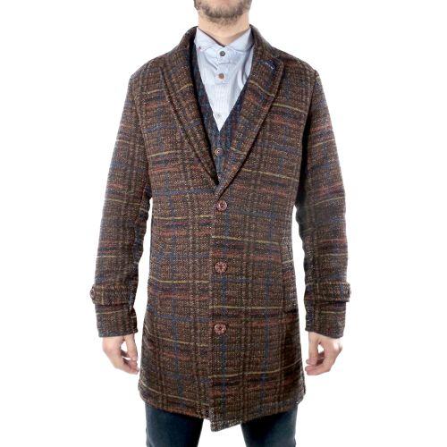 koon RIVER-BC118 MULTICOLOR cappotto uomo multicolor