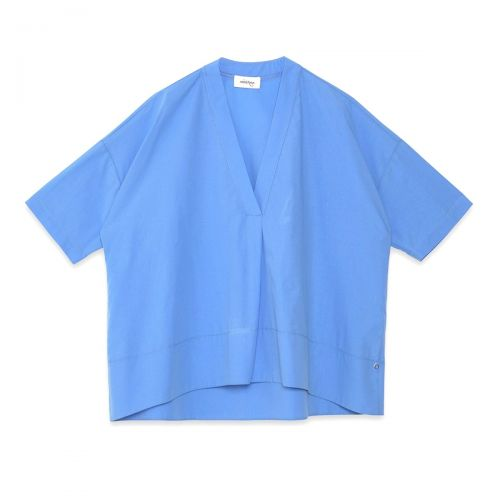 ottod'ame maglia in popeline con pences donna camicia dc4486