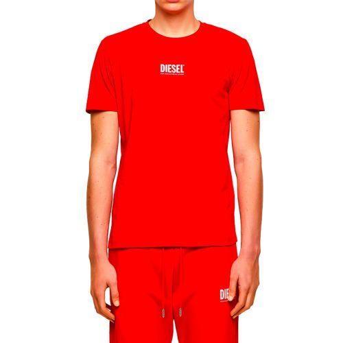 diesel t-shirt uomo rosso T-DIEGOS-ECOSMALLOGO