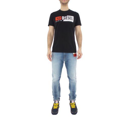 diesel T-DIEGO-CUTY 0091A 900 t-shirt uomo nero