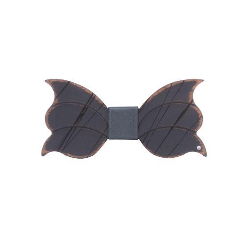 Lord Dandy Art Designer Uomo Papillon Grigio
