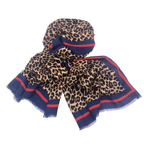 zago FF111993 BLU BEIGE sciarpa donna beige e blu