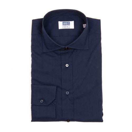 Lamberto Fabbracci Uomo Camicia Blu