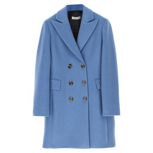 please cappotto donna azzurro K493IPRIMU