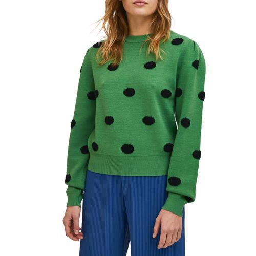 compania fantastica maglia donna verde WI21ETH10