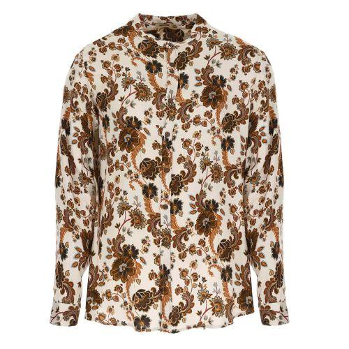 imperial camicia uomo panna cognac CYZ5CEB